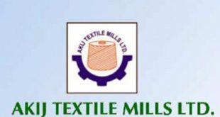 Akij Textiles Job Circular 2019