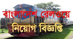 Railway Job Circular 2019
