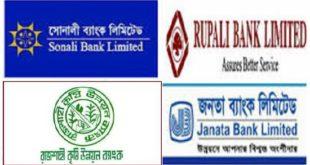 Govt 7 Bank Job Circular 2020