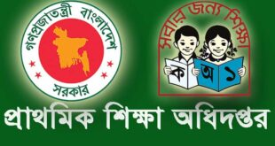 Primary Headmaster Job Circular 2020